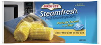 Birds Eye Steamfresh  Sweet Mini Corn On The Cob 4 Ct Bag
