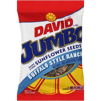 David® Buffalo Style Ranch Jumbo Sunflower Seeds 6 oz. Bag