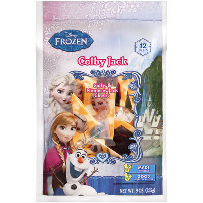 Disney Frozen Colby Jack Cheese Snacks 12 ct Bag