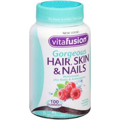 Vitafusion™ Gorgeous Hair, Skin & Nails Multivitamin Raspberry Gummies