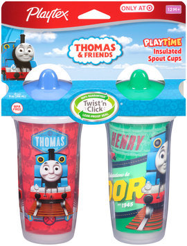 Playtex® Playtime™ Thomas & Friends™ Insulated 12M+ 2-9 oz. Spout Cups