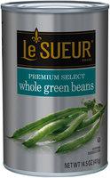 Le Sueur® Premium Select Whole Green Beans 14.5 oz. Can