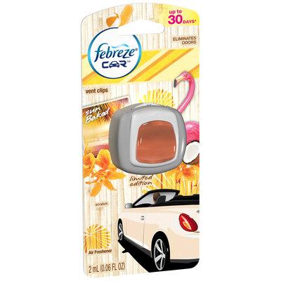 Febreze Car Vent Clips Sun Baked Air Freshener (1 count; 0.06 Fl Oz each)