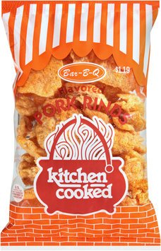Kitchen Cooked Bar-B-Q Flavored Pork Rinds $1.19 Prepriced 2.25 oz. Bag