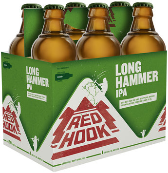 RedHook Long Hammer IPA Beer 6-12 fl. oz. Bottles