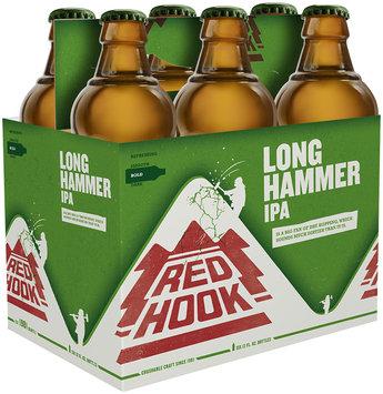 RedHook Long Hammer IPA Beer 6-12 fl. oz. Bottles