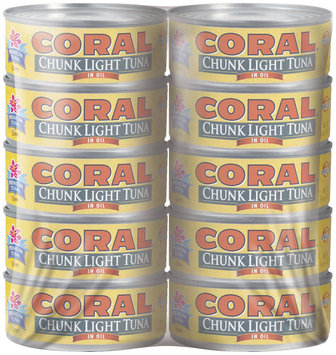 Coral Chunk Light In Oil