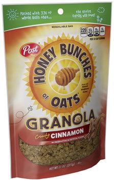 Honey Bunches of Oats Crunchy Cinnamon Granola