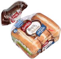 Sara Lee® Hearty & Delicious™ Center Split White Deli Rolls 6 ct Bag