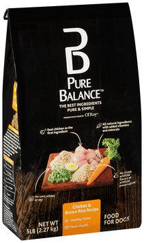 Pure Balance™ Chicken & Brown Rice Recipe Dog Food 5 lb. Bag