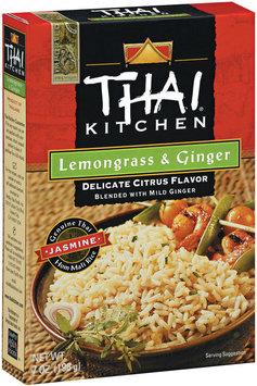Thai Kitchen TK Lemongrass & Ginger Jasmine Rice Jasmine Rices 7 Oz Box