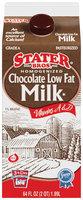 Stater Bros.® Homogenized Chocolate Low Fat Eggnog Vitamins A and D 64 fl. oz.