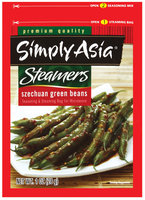 Simply Asia Steamers Szechuan Green Beans Dry Seasoning Mixes 1 Oz Packet