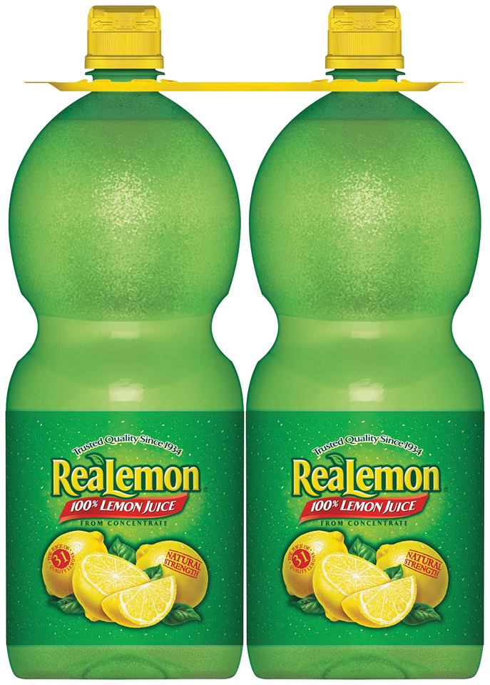 ReaLemon® 100% Lemon Juice 2-48 fl. oz. Bottles