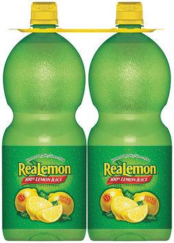 ReaLemon® 100% Lemon Juice 2-48 fl. oz. Bottles