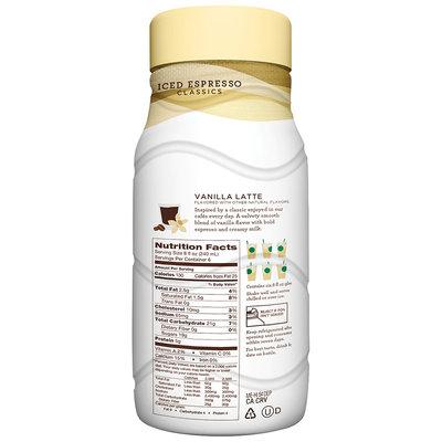 Starbucks® Vanilla Latte Espresso Beverage 48 fl. oz. Plastic Bottle
