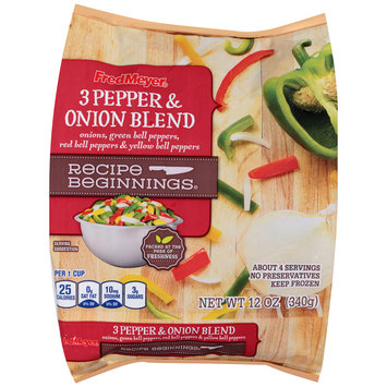 Fred Meyer® 3 Pepper & Onion Blend 12 oz. Bag