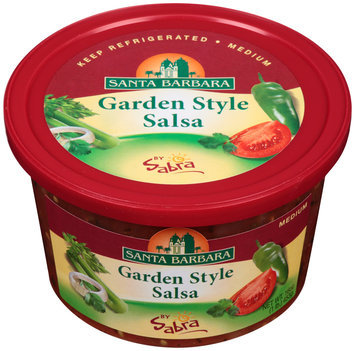 Santa Barbara® Garden Style Salsa Medium by Sabra® 16 oz. Tub
