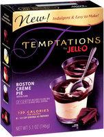 Jell-O Boston Creme Pie Temptations Dessert Kit 5.1 Oz Box