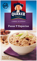 Quaker® Raisin Spice International