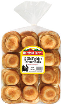 Hartford Farms Old Fashion 12 Ct Dinner Rolls 20 Oz Bag
