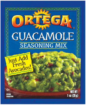 Ortega Guacamole Seasoning Mix 1 Oz Packet