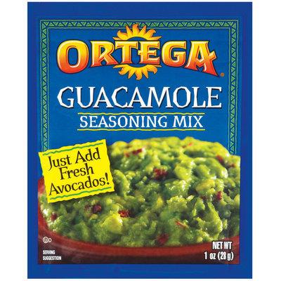 Ortega Guacamole Seasoning Mix 1 Oz Packet