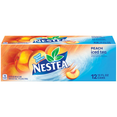 Nestea Peach Ice Tea 12-12 fl. oz. Cans