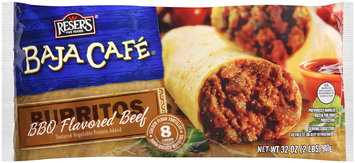 Reser's Fine Foods® Baja Cafe® BBQ Flavored Beef Burritos 32 oz. Bag