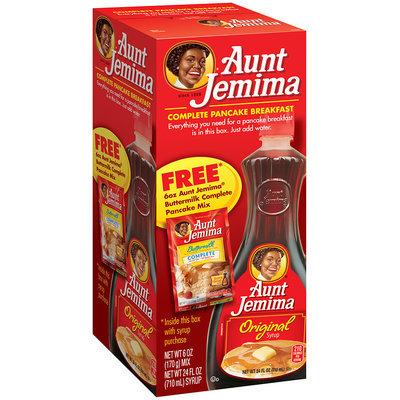 AUNT JEMIMA Complete Pancake Breakfast 24 Oz Box