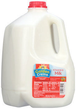 Golden Creme® Vitamin D Milk 1 gal. Jug