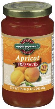 Haggen Apricot Preserves 18 Oz Jar