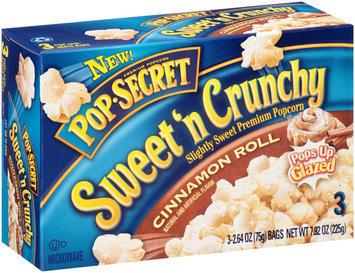 Pop Secret® Sweet 'n Crunchy Cinnamon Roll Popcorn s