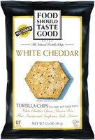 Food Should Taste Good White Cheddar Tortilla Chips