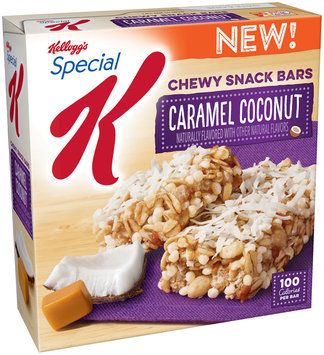 Kellogg's® Special K® Caramel Coconut Chewy Snack Bars 5.28 oz. Box
