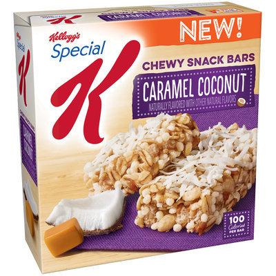 Kellogg's® Special K® Caramel Coconut Chewy Snack Bars 5.28 oz. Box