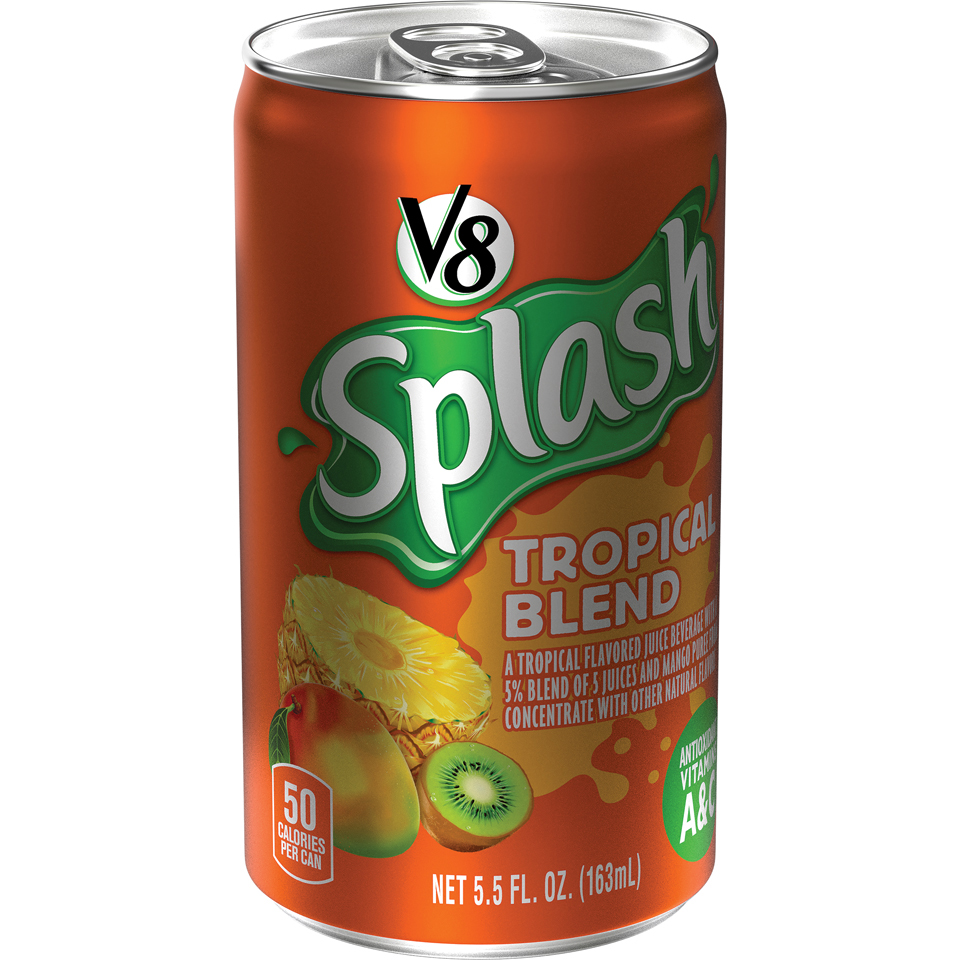 V8 Splash Tropical Blend Juice Drink 5.5 fl. oz.