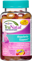 One A Day® TruNatal™ Regularity Support Soluble Fiber Supplement Gummies 60 ct Jar