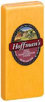 Hoffman's Natural Extra Sharp Cheddar Cheese 8 Oz Brick