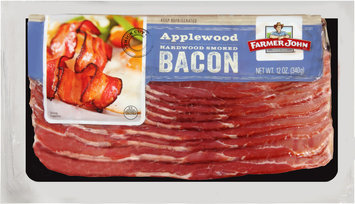 Farmer John® Applewood Hardwood Smoked Bacon 12 oz. Pack