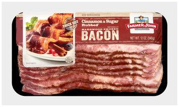 Farmer John® Cinnamon & Sugar Rubbed Naturally Hardwood Smoked Bacon 12 oz. Wrapper