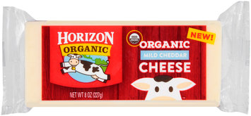 Horizon Organic® Mild Cheddar Cheese 8 oz. Package