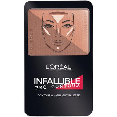 L'Oréal Paris Infallible Pro Contour Palette Deep/Profond 0.24 oz. Compact