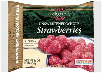 Haggen®,Unsweetened Whole Strawberries, 1lb