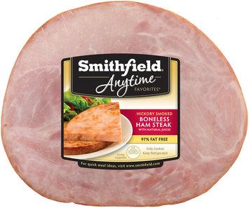 Smithfield® Anytime Favorites™ Hickory Smoked Boneless Ham Steak