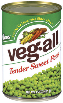 Veg-All Tender Sweet Peas 15 Oz Can