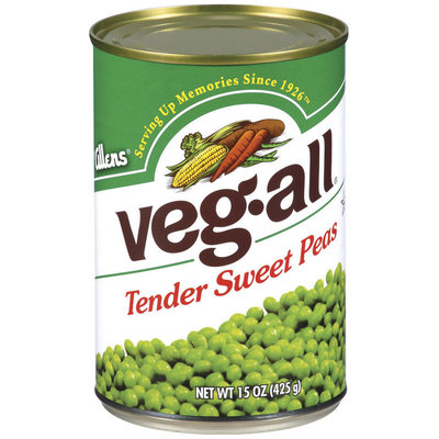Veg-All Tender Sweet Peas 15 Oz Can