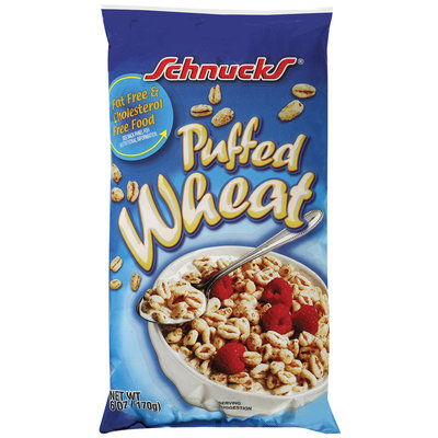 Schnucks Puffed Wheat Cereal 6 Oz Bag
