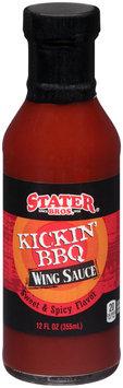 Stater Bros.® Kickin' BBQ Wing Sauce 12 fl. oz. Bottle