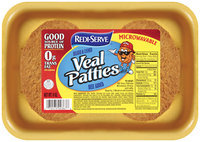 Redi-Serve™ Breaded & Cooked Veal Patties Beef Added 9 oz